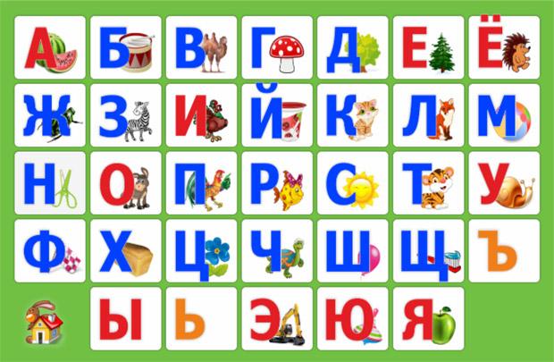 Посмотрите на фото, выберите любую букву из алфавита и составьте длинное предложение из слов, начинающихся с выбранной буквы.